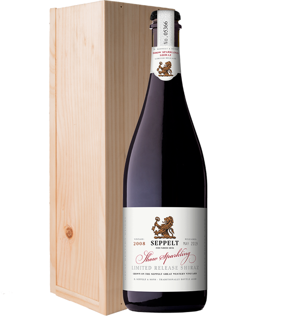Show Sparkling Limited Release Shiraz 2008 Gift